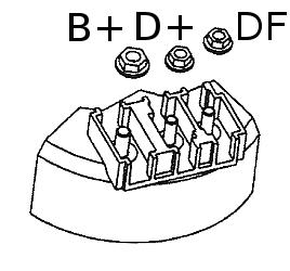B+ D+ DF