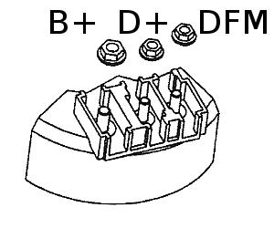 B+ D+ DFM