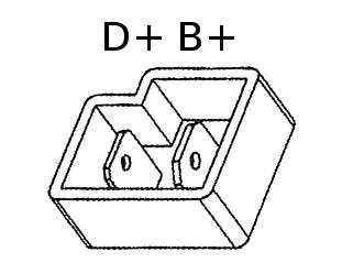 D+ B+